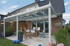 Terrazza glass verandas from Samson Awnings and terrace covers