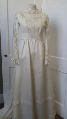 Vintage Wedding  Dress from 1920s