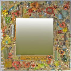 Junk Pique Assiette Mirror