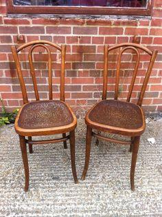 vintage original Thonet chairs