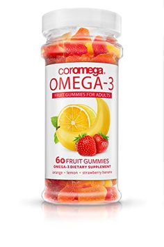 Coromega Adult Dha Gummy Fruits, -- You can find more details by visiting the image link. Fish Oil Benefits, Omega Oils, Omega 3 Fish Oil, Best Amazon Products, Health And Beauty, Healthy Life, Vitamins, Image Link, Strawberry