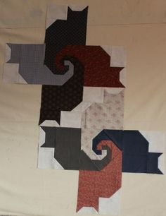 ❤ =^..^= ❤ Katie Mae Quilts: Kats with Kate - The Start