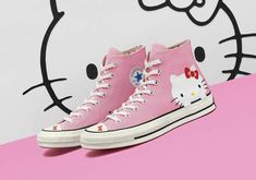 Hello Kitty And Converse Reveal Full Footwear Collaboration 764e36c86