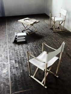 Absolutely love these Folding Chair by Mogens Koch