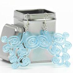 Acrylic Earrings // Design Earrings // Made in Italy // by SOBweb