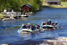 Whitewater rafting in Laukaa. ©Visit Jyväskylä Photo: Keijo Penttinen.