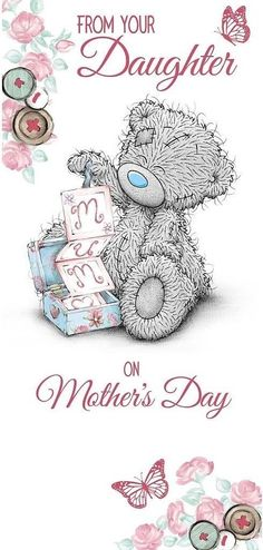 From you're daughter on mother's day
