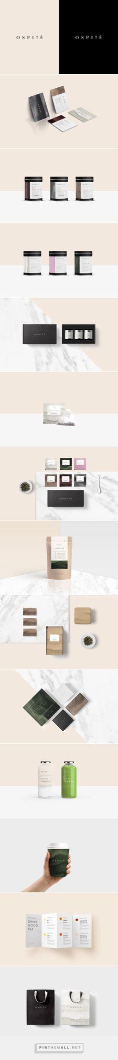 OSPITE | Tea house on Behance | Fivestar Branding – Design and Branding Agency & Inspiration Gallery