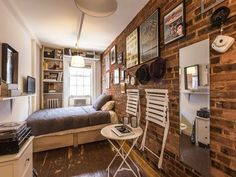 Whats the smallest New York apartment youve ever lived in?