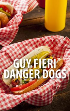 The most popular guy fieri ideas are on pinterest guy fieri food guy fieri stopped by the chew to make some danger dogs a recipe from his forumfinder Choice Image