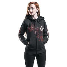 Kill Or Die - Bluza z kapturem rozpinana - The Walking Dead