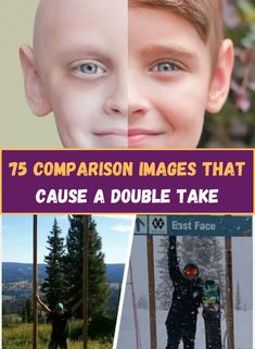 It's amazing what you'll notice when you open your eyes and view the world from a different perspective. That's what these people found out. Their comparison photos examining the differences and similarities between things will blow your mind.