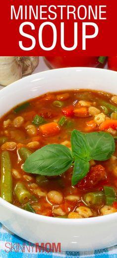 Skinny Minestrone Soup