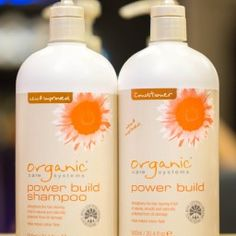 "Organic Shampoo and Conditioner ""Power Build"""