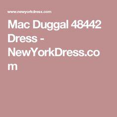 Mac Duggal 48442 Dress - NewYorkDress.com