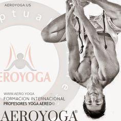 formacion profesores yoga aéreo, cursos aeroyoga® international con Rafael Martinez