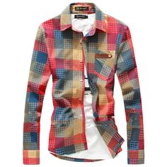 spring autumn men shirts,men's fashion slim fit color block dazzle long sleeve plaid shirt men casual shirts high quality