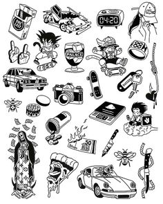 Tattoos Discover Tattoo sketches 452822937535066224 - Source by Flash Art Tattoos, Tattoo Flash Sheet, Body Art Tattoos, Ankle Tattoos, Arrow Tattoos, Ship Tattoos, Car Tattoos, Tatoos, Sketch Tattoo Design