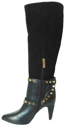1265138cad05 Ivy Kirzhner Black New Parachute Stud Boots Booties Size EU 37.5 (Approx.  US 7.5) Regular (M