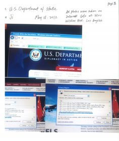 Privacy Report From US State Gov May 18, 2012, he duplicated all government websites.