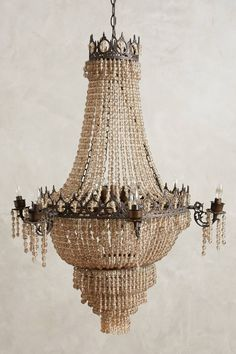 Tea Empire Chandelier - anthropologie.com
