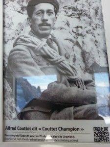Alfred Adolphe Couttet, Skieur alpiniste et Fondateur de l'Ecole de Ski et d'Escalade - James Couttet, Skieur alpiniste devenu champion du monde. Portrait de deux grands champions de l'histoire de Chamonix-Mont-Blanc.