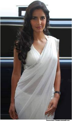 Spellbind your Loved One with a White Saree
