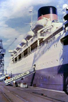 Beautiful Ocean, Most Beautiful, Merchant Navy, Mombasa, Sail Away, Cruise Ships, Ways To Travel, Vintage Posters, Sailing