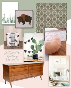 Oh, What Love Baby: Southwestern Nursery Inspiration