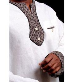 Ocacia Ocacia - Modern Traditional African Clothes for Men Contemporary African Designer Clothing African Shirts For Men, African Tops, African Wear, African Women, African Dress, African Fashion, African Traditional Dresses, Traditional Wedding Dresses, Traditional Outfits