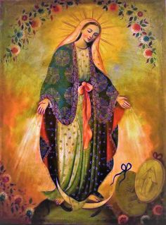 Behold thy Mother and Holy Queen! Divine Mother, Blessed Mother Mary, Blessed Virgin Mary, Catholic Art, Religious Art, Virgin Mary Art, Hail Holy Queen, Images Of Mary, Queen Of Heaven