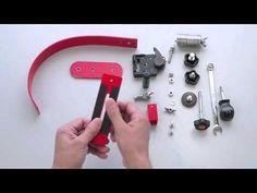 自作カメラスタビライザ−(自作ステディカム)Camera Stabilizer DIY Steadicam - YouTube