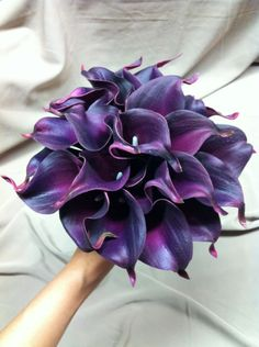 Artificial Bridesmaid Calla Lily Bouquet
