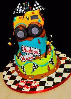 Monster Truck Cake by Lisa's Sweet Smiles, via Flickr