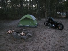 Motorcycle Camping and Road Trip