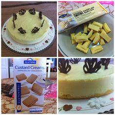 Yksinkertainen ja helppo gluteeniton juustokakku syntyy gluteenittomista täytekekseistä murennetusta pohjasta ja mangotuorejuusto-ke...