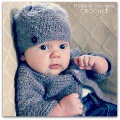 Classic Crocheted Hat Crochet Pattern - Holland Designs Crochet