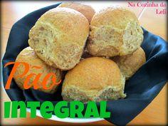 Que tal um pão integral caseiro, bem macio e sem adição de açúcar?! Esse pãozinho é um sucesso e excelente para servir aos amigos. Se v...