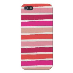 Berry Stripes iPhone 5 Case #iPhone #tech #zazzle