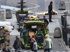Sube a 4 la cifra de muertos y a 15 los heridos durante ataque en Estocolmo