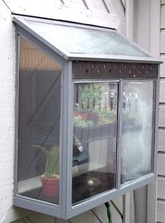Tiny homes really need this for herbs or house plants -- there is such limited wall space. sing a window garden makes total sense.