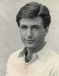 When Alec Baldwin was the most handsome man on the planet.