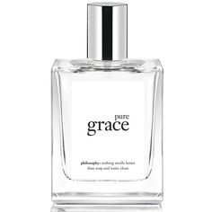 philosophy 'pure grace' spray fragrance ($48) ❤ liked on Polyvore featuring beauty products, fragrance, no color, spray perfume, philosophy fragrance and philosophy perfume