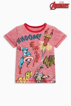 Bambini 2 - 16 Anni Sincere T Shirt Thor Marvel Avengers Bambino Blue Royal Tshirt Maglia Maglietta Nuovo