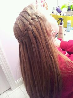 Waterfall braids <3