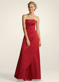 David's Bridal Style F11165 - prom, bridesmaid, or evening dress $65 +10 shipping size 8