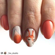 Blue Toe Nails, Fox Nails, Purple Nails, Trendy Nails, Cute Nails, Picasso Nails, Solar Nails, Nail Art Designs Videos, Almond Acrylic Nails