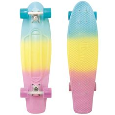 penny skateboards inspiration to get out and skate on every girl's wishlist Penny Skateboard, Skateboard Design, Skateboard Girl, Surfboard Travel Bag, Surfboard Fins, Surfboards, Penny Board 27, Pastel Penny Board, Hipster Hairstyles