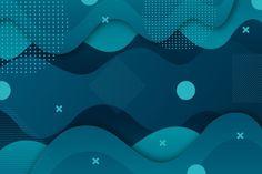 Fondo azul clásico abstracto | Vector Gratis Wallpaper Azul, Pattern Wallpaper, Iphone Wallpaper, Black Abstract Background, Abstract Backgrounds, Design Art, Logo Design, Overlays, Typography