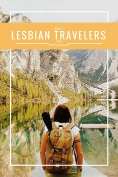 The top 15 lesbian travelers on Instagram are sure to inspire major wanderlust to LGBT people wanting to travel the world. Via http://Dopesontheroad.Com